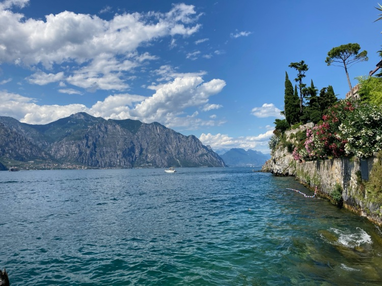 View of Lake Garda in Malcesine